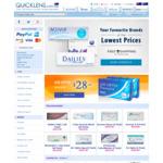 20% off Lenses and Free Shipping ($98 Minimum Spend) @ Quicklens Australia
