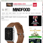 Win a Belkin Apple Watch Accessories Prize Pack Worth $254.85 from MiNDFOOD