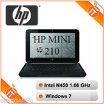 "HP Mini 210 10"" Netbook l N450 1.66GHz l 1GB RAM l 160GB HDD l Windows 7 l $285 Free Delivery!"