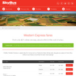 [VIC] Western Express Skybus Tullamarine Airport Transfer Free until 14th July - Normally from $21 Each Way