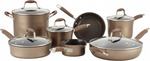 Anolon Advanced Bronze 12 Piece Cookware Set $269.95 + Free Shipping (was $629.95) @ Cookware Brands