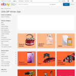 20% off 145 Selected Sellers @ eBay