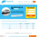 Wipertech Aeroflex Wiper Blades for Hyundai Cars (Front Pair) $25 Delivered @ Wipertech