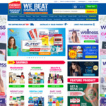 $5 off (No Min Spend) + Free Shipping Over $50 (Or $25 with Shipster) @ Chemist Warehouse