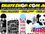 Skate Shop 40% off + free delivery, grip and gift