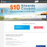 US $10 off Sitewide @ EasyRentCars