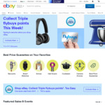 Triple Flybuys Points on Purchases @ eBay