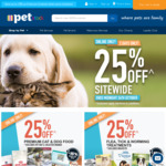 PETstock 25% off Sitewide (Exclusions Apply), Free Metro Delivery over $25 (Ivory Coat 13kg Lamb & Kangaroo $82.49, Was $120)