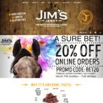 20% off Online Orders @ Jim's Jerky