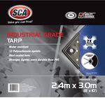 SCA Industrial Grade Poly Tarp - 2.4m X 3.0m $9 (Was $25) @ Supercheap Auto