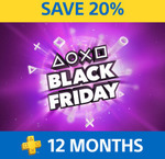 PlayStation Plus 12 Months Membership $63.95 (20% off) @ PlayStation Store