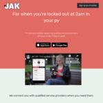 $20 off First Job at JAK App
