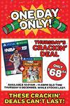 [PS4, XB1] NBA 2K19 + NBA 2K Playgrounds 2 $68 @ EB Games