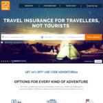 10% off Travel Insurance @ itrek (Specialist Adventure & Long Stay Insurance)
