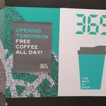 [VIC] Free Coffee All Day Saturday (13/4) @ 365, Victoria Gardens (Richmond)