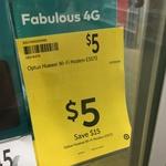 Optus E5573 4G Wi-Fi Modem $5 @ Target