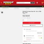 Penrite Pro Gear Gear Oil - GL-5, 75W-85, 1 Litre $16 from Supercheap Auto