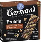 Carman's Muesli Bar 5-Pack 160g-200g $2.80 @ Amazon. Min Order of 4 (Subscribe + Save  10%) + Delivery ($0 With Prime/$39 Spend)