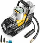 Astroai Portable Digital Tire Inflator Air Compressor Pump 12V DC $49.99 Delivered (Was $62.99) @ AstroAI Amazon AU