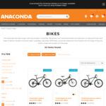 50% off Mountain Bikes @ Anaconda