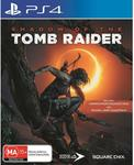 [PS4] Shadow of The Tomb Raider (JB Hi-Fi Edition) $9 @ JB Hi-Fi