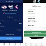 Free 2020 AFL & NRL Live Pass for Telstra & Boost Mobile Customers