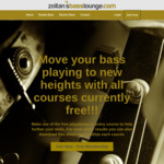 Free Double/Electric Bass Online Courses @ Zoltan's Bass Lounge
