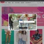 Levi's Online 30% off + 20% Cashback (Capped at $20) @ Cashrewards