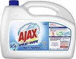 Ajax Spray N' Wipe Multi-Purpose Kitchen & Bathroom Household Cleaner Ocean Fresh, 5L $16.44 ($14.80 via S&S) @ Amazon AU