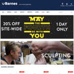 20% off Sitewide at Barnes.com.au