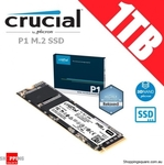 Crucial BX500 480GB $95.36, 960GB $143.95, Crucial P1 1TB M.2 NVMe $168.93 + Delivery @ Shopping Square