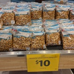 Roasted & Salted Cashews 800g $10 @ Coles