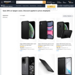 25% off Selected Spigen Cases + Delivery ($0 with Prime/ $39 Spend) @ Amazon AU