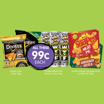 [WA] Doritos 150g & Shapes 165g (Various Weird Flavours), Pringles WTF? $0.99 @ Spudshed