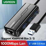 UGREEN 3 Ports USB 3.0 HUB with 1000Mbps Network Adapter US$15.38 (~A$21.12) Delivered @ Ugreen AliExpress