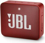 [Prime, Waitlist] JBL GO 2 Waterproof Ultra Portable Bluetooth Speaker Red $30.85 Delivered (Was $62.02) @ Amazon US via AU
