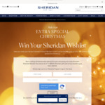 Win $5,000 Worth of Products from Sheridan