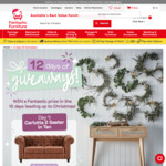 Win 1 of 12 Furniture or Gift Card Prizes from Fantastic Furniture
