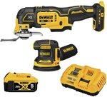 Dewalt 2 Piece DCK202P1 Kit Inc 5ah Battery & Fast Charger $380.89 + Delivery (Free with Prime) @ Amazon US via AU