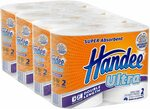 Handee Double Length Ultra Paper Towel, White 8 Rolls (4x2 Rolls) $12 + Delivery ($0 with Prime/ $39 Spend) @ Amazon AU