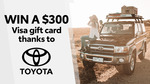 Win a $300 VISA Gift Card from Seven Network