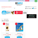 5% off All Pet Supplies, Free Shipping @ Vet Supply