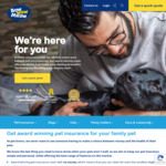 2 Months Free Pet Insurance with New Policies (for Puppies 8 Weeks to 1 Year Old) @ Bow Wow Meow Insurance