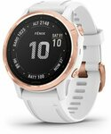 50% off RRP Garmin Fenix 6S Pro Standard Rose Gold-Tone with White Band $574.50 @ Garmin