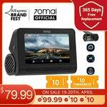 70mai Dash Cam 4K A800S +Rear Cam US$109.99(A$142), 2K Pro Plus A500 +Rear Cam US$84.51(A$109) @ 70mai Official Store AliExpress