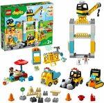 LEGO DUPLO Construction Tower Crane & Construction 10933 Building Kit $89 Delivered at Amazon AU