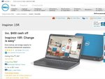 "Dell Inspiron 15R (i7, 1TB HDD, 8GB RAM, 15.6"") for $999"
