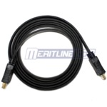 $0.99 -  5' High Speed Flat HDMI M / M Cable with Golden Plated Connector, Black  + Shipping