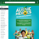 Aussie Heroes Olympics & Paralympics Sticker Packs: 3 Stickers with $20 or More Spend in-Store or Online @ Woolworths