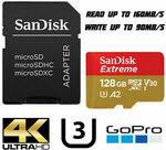 [eBay Plus] SanDisk Extreme 128GB microSD Card $14.59 Delivered @ Iot.hub eBay